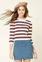 Forever 21 Stripe Sweater