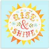 Oopsy Daisy Fine Art For Kids Too Rise & Shine Canvas Wall Art