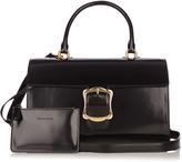 Simone Rocha Oversized-buckle leather bag