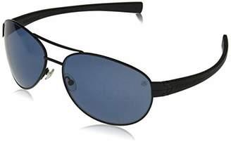 Tag Heuer Unisex-Adult Lrs Automatic 0253 401 Polarized Rectangular Sunglasses