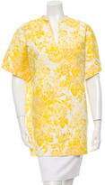 Stella McCartney Floral V-Neck Top