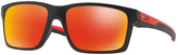 Oakley OO9264-2657 Mainlink Prizm Ruby Fade Collection Rectangle Sunglasses