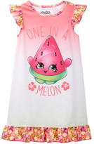 Intimo Shopkins One in a Melon Scented Ruffle Nightgown (Little Girls & Big Girls)