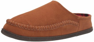 Staheekum Men's Flannel Lined Slipper
