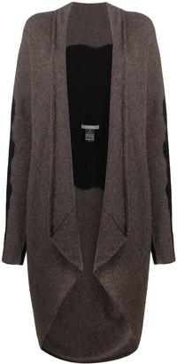 Suzusan Colour Block Asymmetric Cardigan