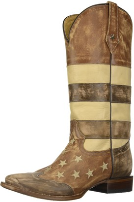 Roper Women's Vintage Americana Flag Western Boot