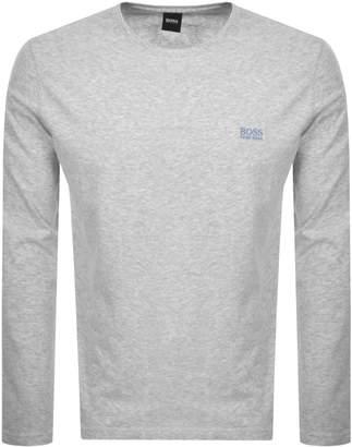 HUGO BOSS Boss Business Crew Neck T Shirt Grey
