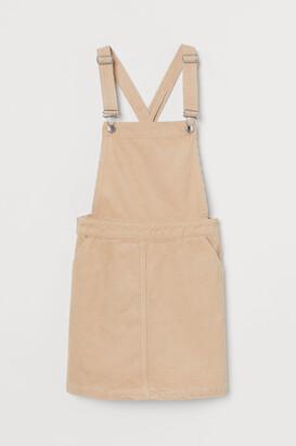 H&M Corduroy Overall Dress