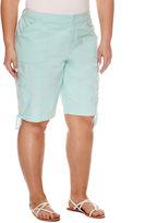 ST. JOHN'S BAY St. John's Bay Bermuda Shorts - Plus (11.5)