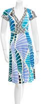 Issa Silk Flare Dress