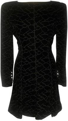 Ungaro Black Velvet Dress for Women