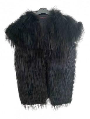 Martin Grant Black Fur Coat for Women