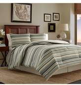 Tommy Bahama Stripe Canvas Duvet Cover & Sham Set