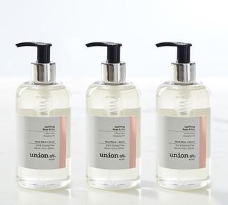 Pottery Barn Union St. Elixir Uplifting Rose + Ivy Liquid Soap Set
