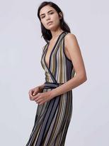 Diane von Furstenberg Cadenza Knit Wrap Dress