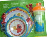 Munchkin Elmo Toddler Dining Set Includes Sippy Cup