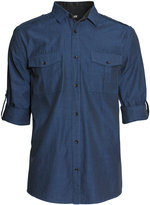 H&M Chambray Shirt - Blue - Men