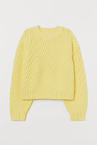H&M Textured-knit Sweater