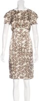 L'Agence Silk Floral Print Dress w/ Tags