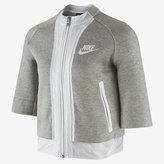 Nike Tech Fleece Cropped Splatter Women's Jacket