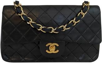 Chanel Timeless/Classique Black Leather Handbags