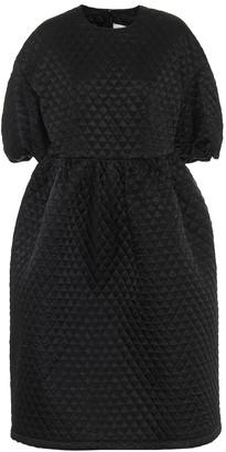 Noir Kei Ninomiya Quilted midi dress