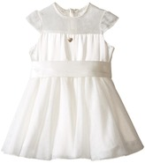 Armani Junior Tulle Cap Sleeve Dress Girl's Dress