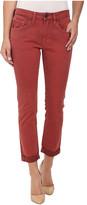 True Religion Grace New Boyfriend Jeans in Rusty Red