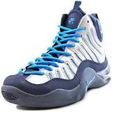 Nike Boys Air Bakin' Basketball Shoes Silver 6Y