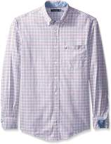 Nautica Men's Big-Tall Tattersall Oxford Shirt