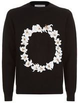 Givenchy Flower Circle Sweater