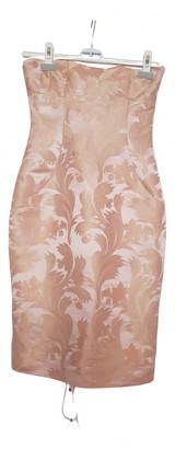 Dolce & Gabbana Pink Silk Dresses