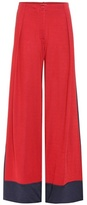 Tomas Maier Wide-leg jersey trousers