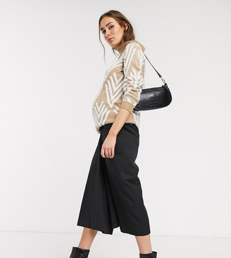 ASOS DESIGN Maternity tailored clean culottes