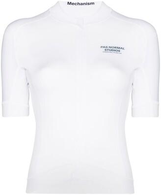 Pas Normal Studios Mechanism jersey zip-up top