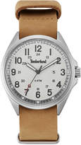 Timberland Men's Raynham Brown Leather Strap Watch 44x48mm TBLGS14829JS01AS