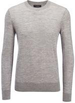 Joseph Light Merinos Sweater in Grey Chine