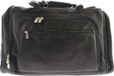 Piel Leather Multi Compartment Duffel Bag 2462