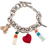 Moschino Enamel Charm Bracelet