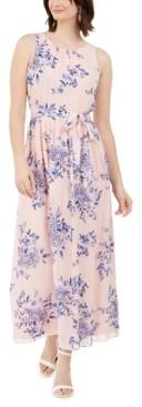Jessica Howard Petite Floral Maxi Dress