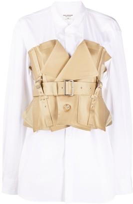 Junya Watanabe Deconstructed Bustier Shirt