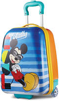 """American Tourister Disney Mickey Mouse 18"""" Hardside Rolling Suitcase"""