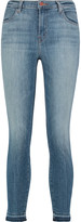 J Brand Alana high-rise faded skinny jeans