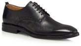 Jeff Banks Black Leather Lace Up Derby Shoes