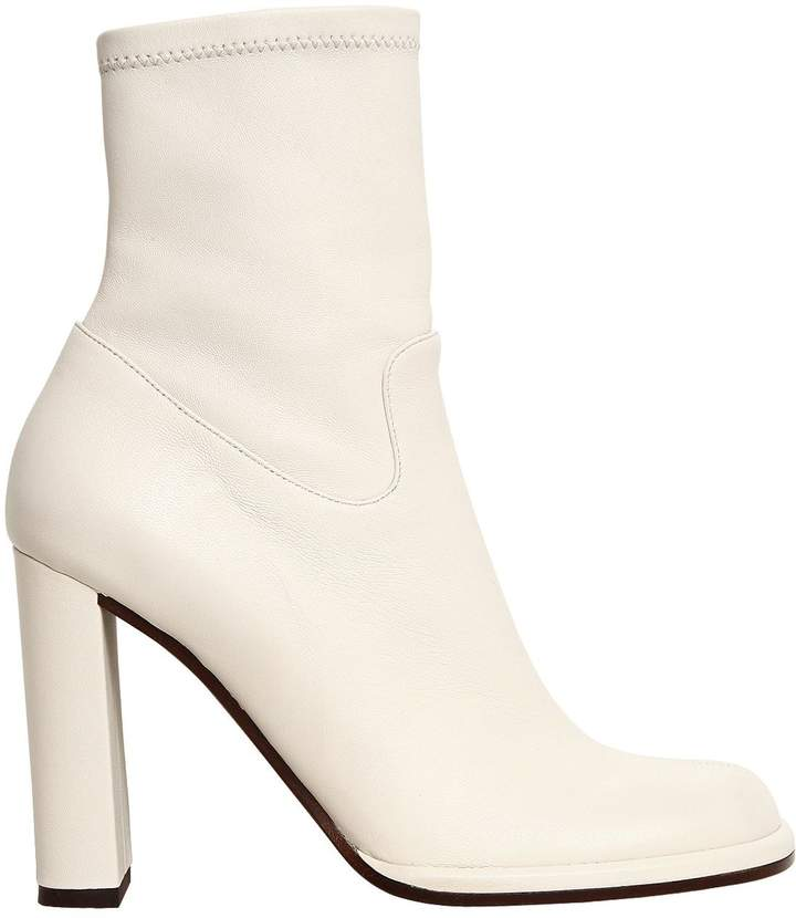 Mulberry 100mm Leather Ankle Boots