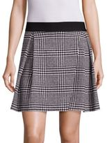 Alice + Olivia Cindie Glen Plaid Mini Skirt