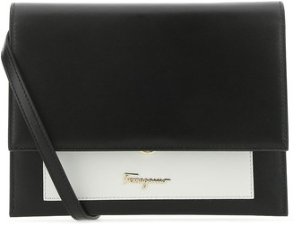 Salvatore Ferragamo Two-Toned Crossbody Bag