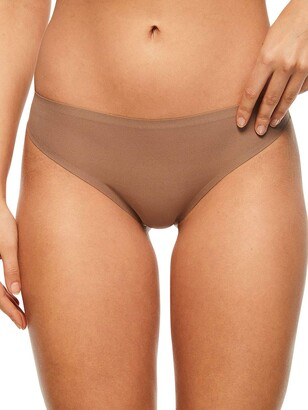 Chantelle Women's Soft Stretch One Size Regular Rise Thong Underwear