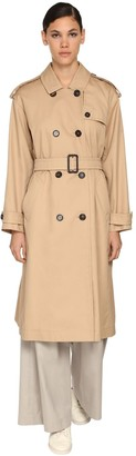 Max Mara 'S Max Mara The Cube Panama Trench Coat