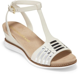Cole Haan Original T-Strap Wedge Sandal